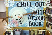 Praxisbulletin biebdecoratie/ leesbevordering.... / Decoratie om in de school bibliotheek het lezen op een leuke manier aantrekkelijk te maken