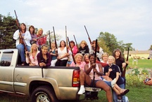 Sharp Shooting Gals / Ladies that know how to handle a gun!! / by Kathy Wallace