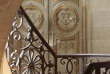 ażury,schody,wnętrza