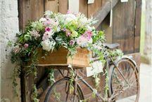 Bicycle & flowers ❤️