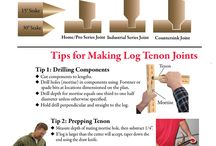 Building log furniture
