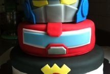Rescue Bots Birthday Party