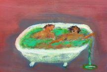 Katherine Bradford , pintora neoyorkina