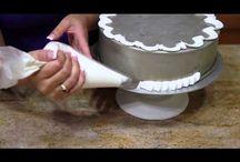 МК - видеоуроки по оформлению тортов