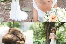 Horton Grange Styled wedding shoot / Collect of wedding flowers including bridal bouquets, tablecentres, floral open hearts, floral arch.