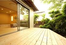 Wood deck & balcony