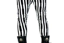 Mens Stripe Pants / Mens Stripe Pants