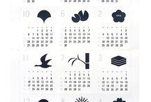 カレンダー&四季