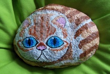 rock painting / by catherine mallet