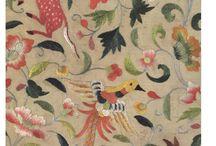 Scandi Folk embroidery art