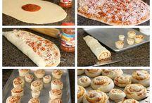 pizzat, wrapit, tacot jne.