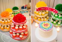 Cakes and Desserts / Beautiful shots by Soper Photography of wedding cakes and desserts.