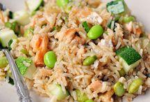 Healthy food / Recipes with quinoa, bulgur etc
