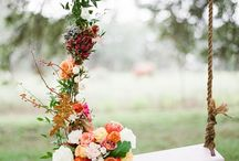 Wedding : balançoires / swing / Un Joli Reve de nymphe