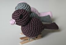 Crochet - Amigurumi / Wonderful crochet amigurumi I need to keep for the future when I have time.