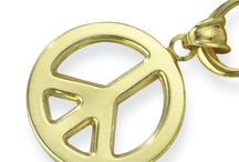 Peace Sign Jewelry / Peace sign jewelry designs. Peace sign rings, earrings, necklaces, pendants and more.
