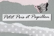 Petit pois et papillon / Petit entreprise de décoration textile pour chambre d'enfant et linge de maison pour bébé.