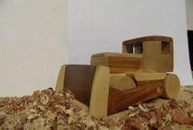 Moje výtvory / Dětské hračky ze dřeva