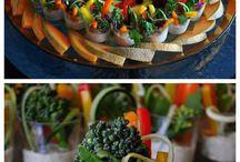 Fruitspiezen/glaasjes & fruitdieren/decoratie