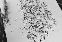 Татуировки на бедрах