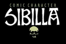 SIBILLA / COMIC CHARACTER BY ROLANDO CICATELLI