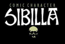 SIBILLA / COMIC CHARACTER BY ROLANDO CICATELLI