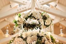 Wedding Floral Chandeliers