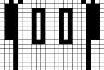Схемы Pixel art