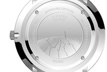 The Ulriken Collection / Our first watch collection is inspired by the tallest mountain in Bergen, Ulriken. It has the sketch of the Ulriken engraved at the back of the case.
