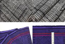 Thai Hmong Hill Tribe Fabric / Thai Hmong Hill Tribe Fabric, it is a fair trade vintage styled fabric by North Thailand Hmong Hill Tribe artisans on new cotton fabric. The fabric is most popular for make a cushion covers pillow covers, bed spreads and vintage style Home decor.