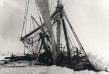 Shakleton's Endurance / Sir Ernest Shakleton's aborted trip to the South Pole.