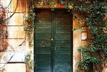 Rome doorways