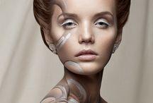 Beauty/ WHISPER ME / DARK BEAUTY, NO. 26 / WHISPER ME / DARK BEAUTY, NO. 26  Photos: Weronika Kosińska Makeup: Lucyna Rossa Make Up Model: Paulina Szczepkowska Retouch: Dawid Żądło / Kreski Corp.
