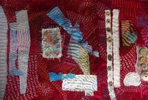 Follow my Stitches! / Nature/ seaside images translated into my ideas of darning stitches!