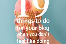 . tips for bloggers .