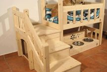 Cute dog and cats houses/beds