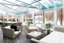 Transitions Sunrooms / LivingSpace sun rooms - Transition product line.  A true four season home addition.