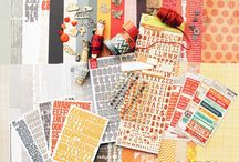 Mr Fox Kit Inspiration / Kits and projects for Mr Fox scrap stash kit. Put together your own kit from your scrap stash. Join us here: http://www.ScrapStashKitClub.com