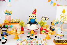 Festa Infantil Minions / Várias ideias de decoração para festa infantil minions.  #festainfantil #festainfantilminions #minions #meumalvadofavorito #decoraçãodefesta