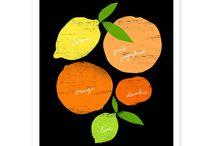 Fruits & Veggies Prints