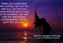 Warrior Goddess / Personal Self Improvement