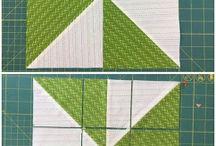 Patchwork vzory, ... / levandule, rychlošití, ...