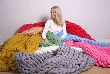 Woolie / Пледы из шерсти, которые создадут уют в вашем доме!