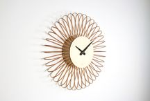 Wanduhren / Wallclocks / Unsere aktuelle Wanduhr Kollektion / Our current clock collection