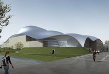 New Opera House in Florence / Arata Isozaki and Andrea Maffei. New Opera House, Florence, Italy (2007) - Project