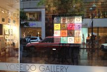 Gallery`s show-window