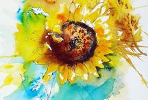 ART - SUNFLOWERS