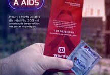 Pratique Mais Amor com Responsabilidade / Ação da Preserv para o Dia Mundial de Luta Contra a AIDS