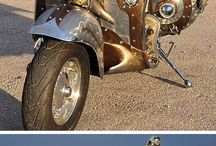 Steampuk motorky