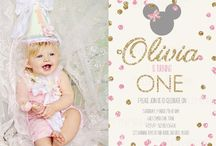 minnie mouse pink & gold